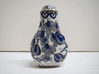 Cloisonne Snuff Jar