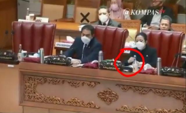 Viral Puan Matikan Mic Anggota DPR yang Tolak RUU Ciptaker, Netizen Geram!