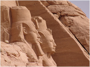 Photo: Templo de Abu Simbel. Egipto