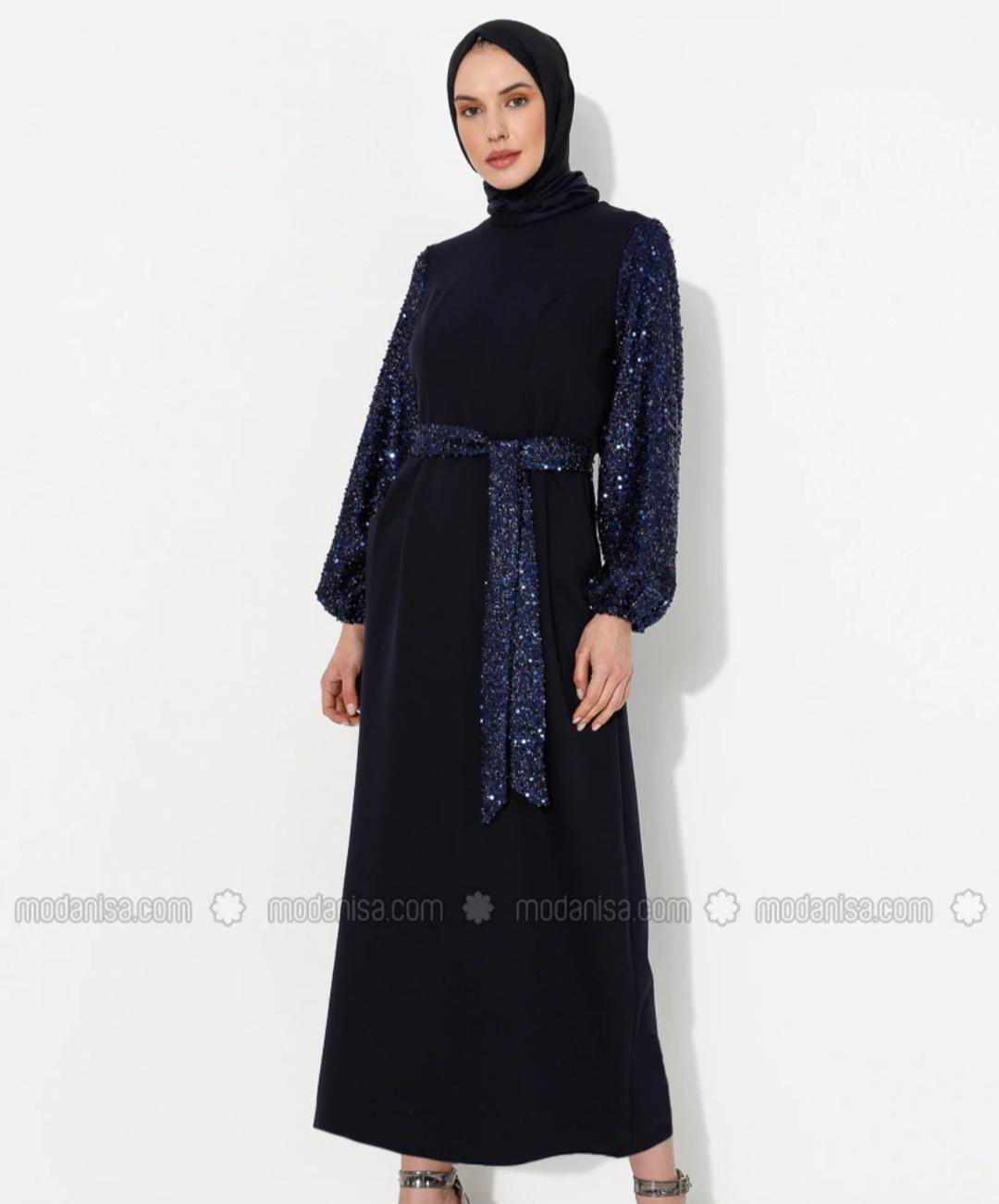 robe hijab pour soirée 2021