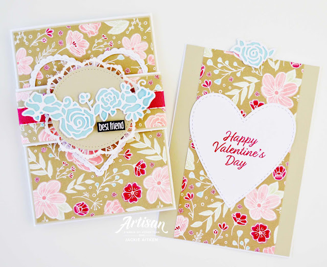 Stampin' Up!, All My Love Suite, Valentine's Day Card, Pocket Card,