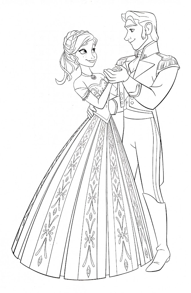 elsa and castle coloring pages - photo#17