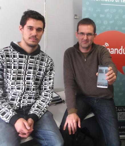 David Zamora y Francisco Martínez, impulsan el periodismo emprendedor.