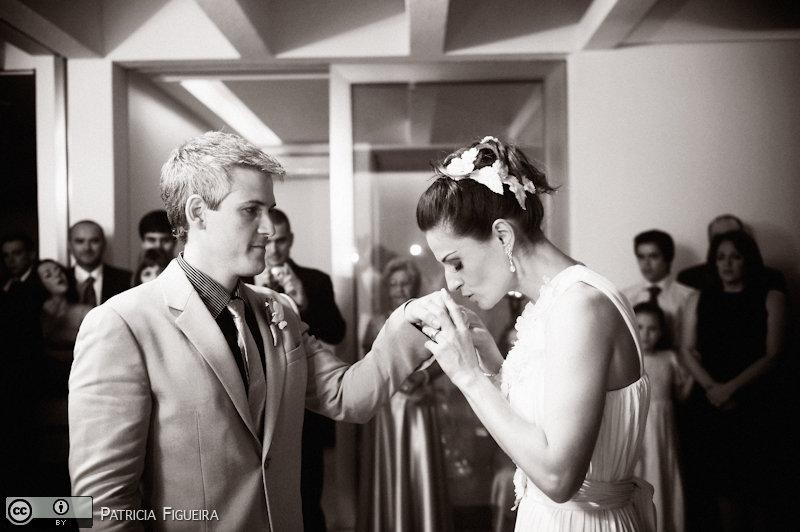 Foto de casamento 0674pb de Karina e Luiz. Marcações: 30/10/2010, Casamento Karina e Luiz, Rio de Janeiro.