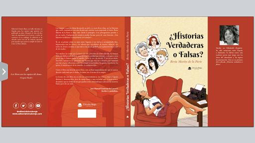 ¿Historias Verdaderas o Falsas? Mi primer libro editado. ISBN 978-841398624-1