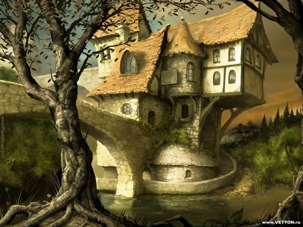 Nightmare Of Horror Landscape 11, Magical Landscapes 4