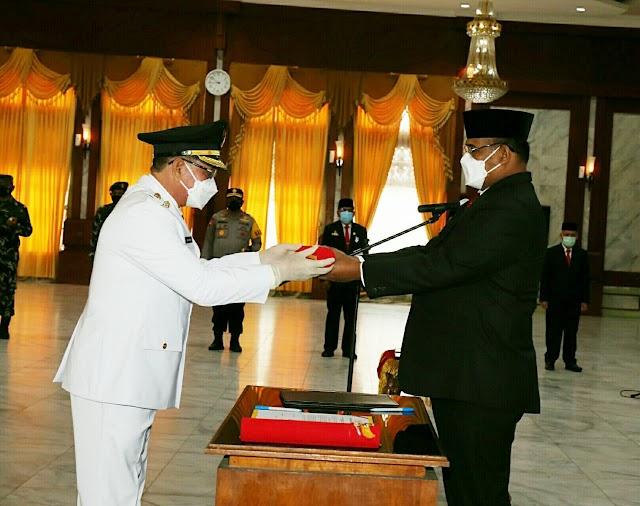 Usai Dilantik, Ini Harapan Ketua DPRD Kotabaru kepada SJA-ARUL