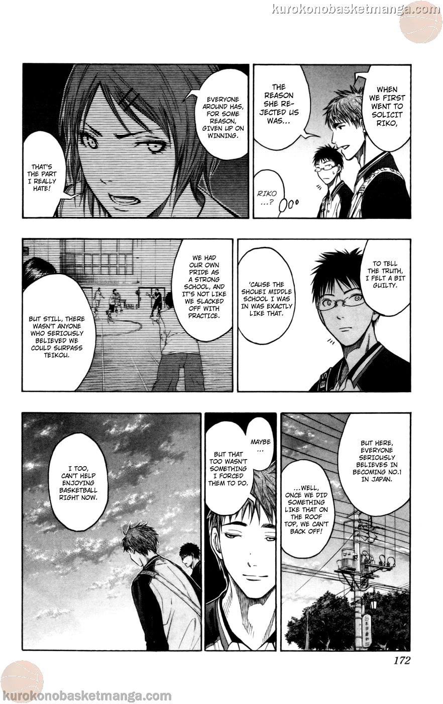 Kuroko no Basket Manga Chapter 98 - Image 06