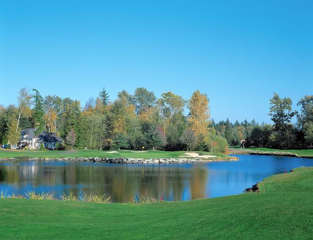 Golfing at Semiahmoo