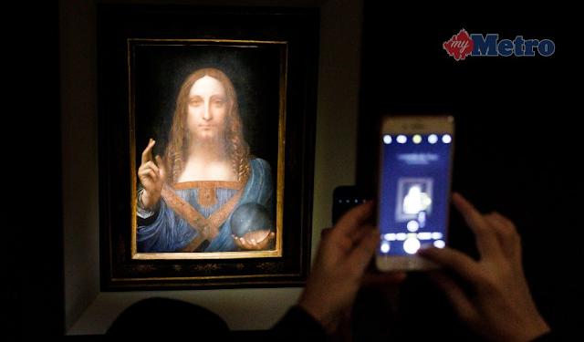 Putera Mohammed beli lukisan RM1.84 bilion