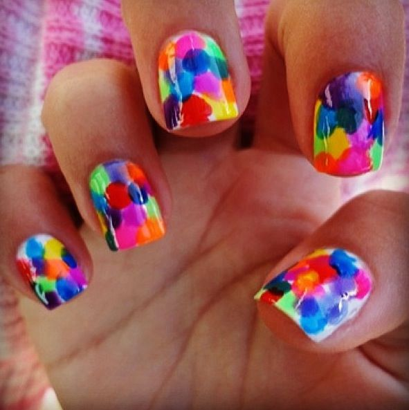 Different Nail Designs For Short Nails: Cool Nail Art Designs 2016