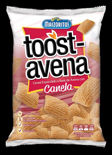 cereal toost avena maizoritos canela 300gr