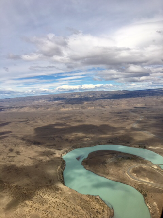 Patagonia from the air