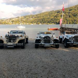Belles voitures au YCGC