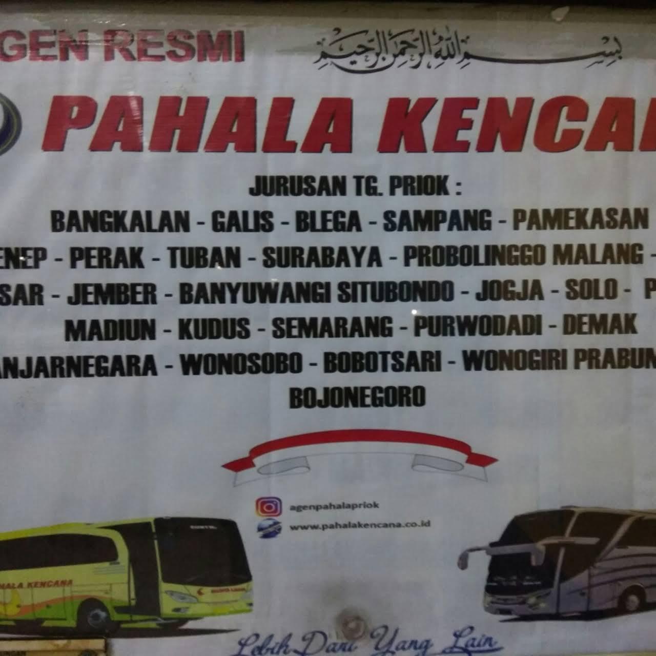 Agen Pahala Kencana Terminal Tj Priok Agen Tiket Bus