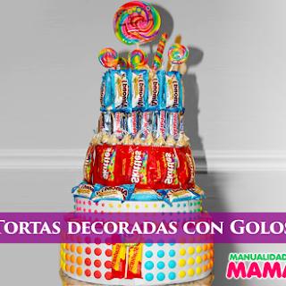 Las Mejores Tortas decoradas con Golosinas