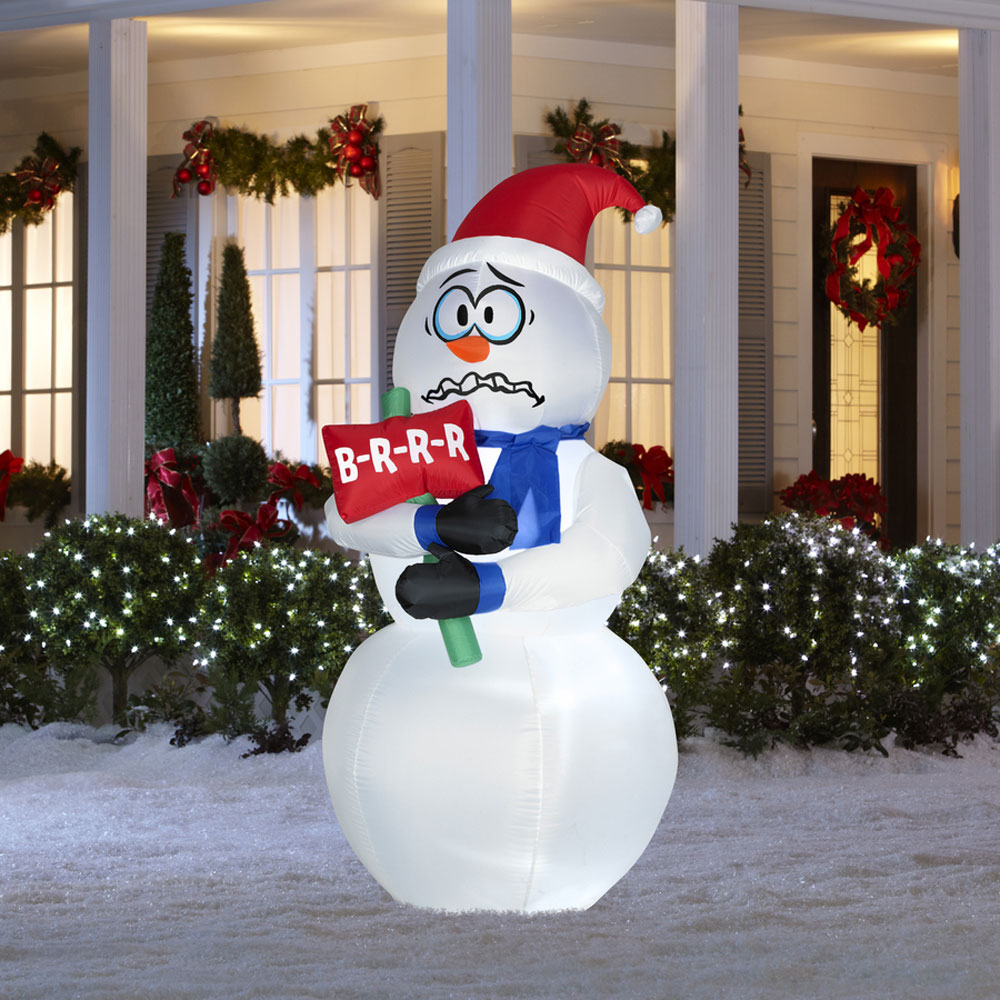Cute Snowman Christmas Decorations For 2016 Styles 7