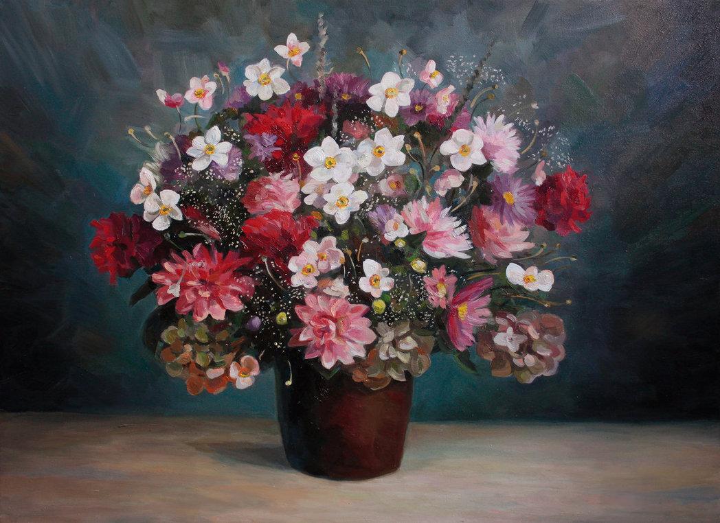 flowers by MariaNovikova1