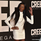 OIC - ENTSIMAGES.COM - AJ Odudu at the  Creed - UK film premiere at the Empire Leicester Sq London 12th January 2016 Photo Mobis Photos/OIC 0203 174 1069