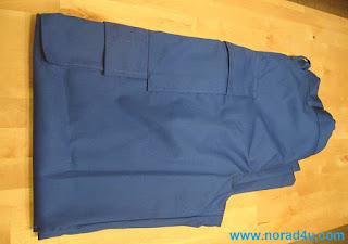 Pents form RF blocking fabric