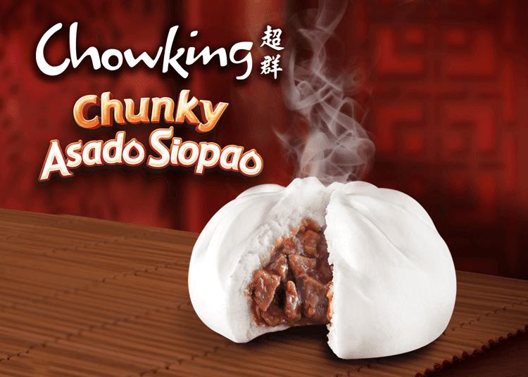 Chowking Chunky Asado Siopao