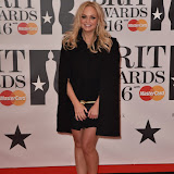 OIC - ENTSIMAGES.COM - Emma Bunton at the  The BRIT Awards 2016 (BRITs) in London 24th February 2016.  Raymond Weil's  Official Watch and  Timing Partner for the BRIT Awards. Photo Mobis Photos/OIC 0203 174 1069
