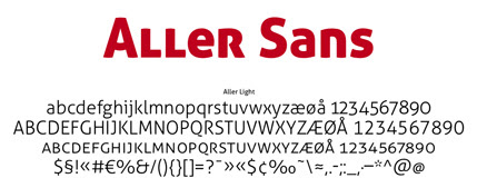 25+ Ultimate Collection of High Quality Free Fonts For Designers- Aller Sans