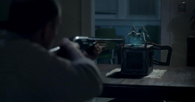 Gremlin (2017) shotgun scene