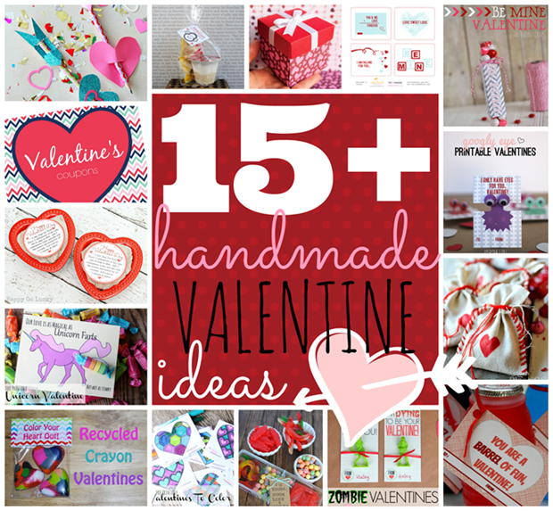 Over 15 handmade Valentine Ideas at GingerSnapCrafts.com #linkparty #valentine #features_thumb[4]