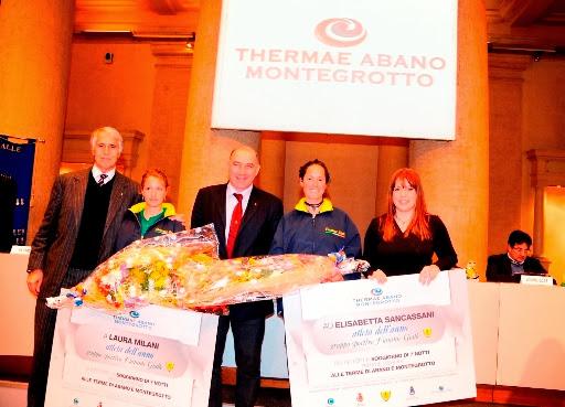 Le Thermae Abano Montegrotto premiano le Fiamme Gialle del Canottaggio