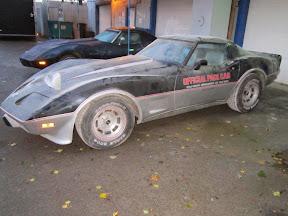 Abandoned Corvette C3
