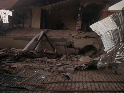 Popular Hotel in Presco Campus Abakaliki Collapse As 18 People Feared Death