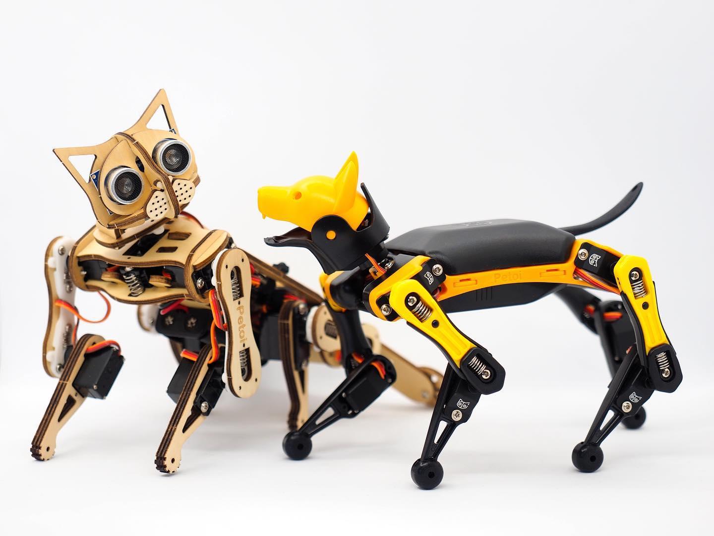 8 удивительных роботов животных от котика до кенгуру
