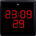 7 segment LED WatchFace icon