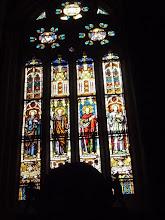 Photo: Catedral de Palencia. Vidrieras.