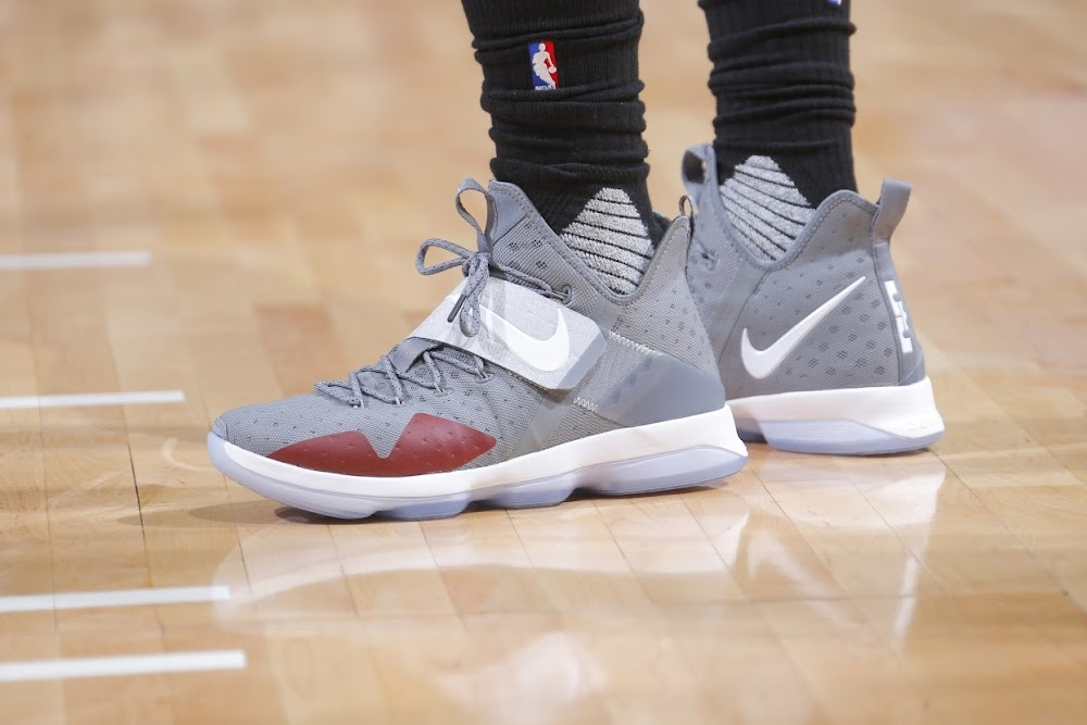 buy popular 6110d 64f58 LeBron Wears Cool Grey 14's. Shumpert Dons the Retro AZG ...