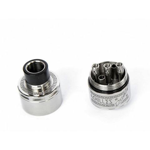 atomizer achilles full titanium%2B%25281%2529 thumb%255B2%255D - 【RDA】 ACHILLES dual RDA by Titanium Mods (アキレスデュアルRDA)レビュー。アキレスIIのデュアルビルド対応バージョン!チタン製で軽量・爆煙・味良し