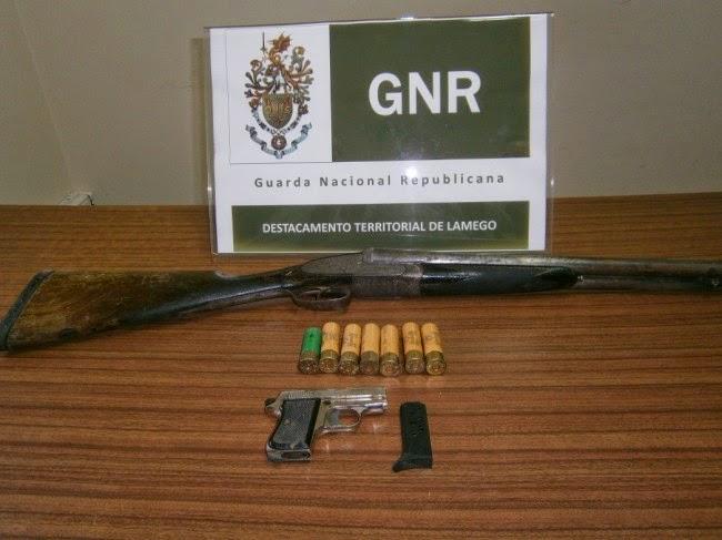 Detenção por posse ilegal de armas