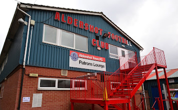 Photo: 23/02/13 - Ground photo taken at the Recreation Ground home of ATFC (Football League) - contributed by Andy Gallon