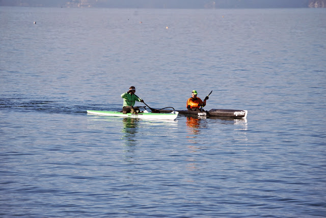 Kayakers paddling past Boulevard Park / Credit: Bellingham Whatcom County Tourism