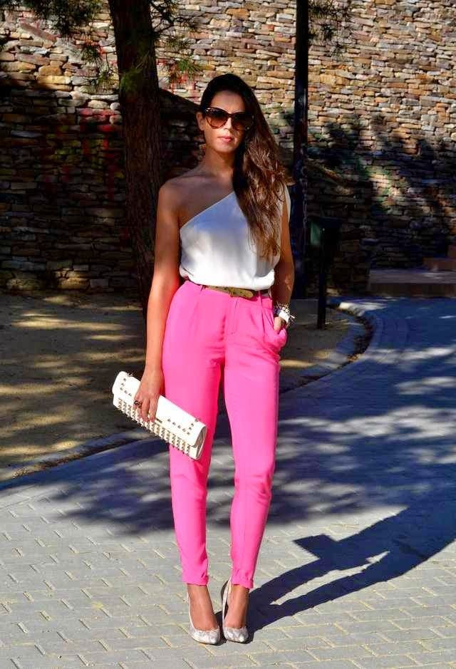 colored jeans outfits for spring 2016