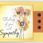 SY0524E Think of You Sympathy Additional stamp from Rubbernecker
