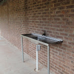 Washing up area at toilet block