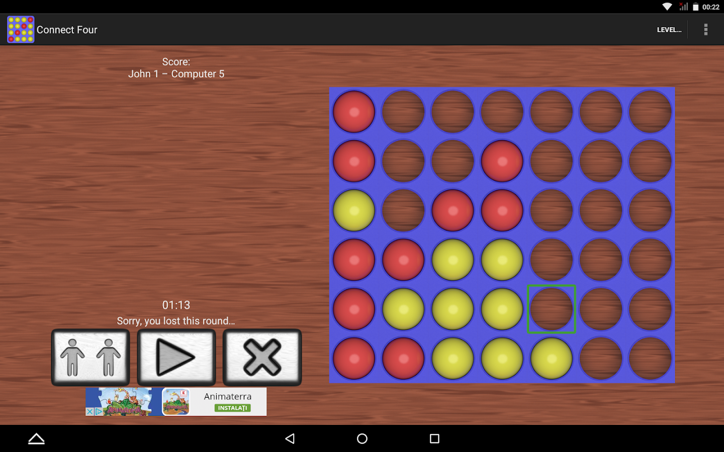 connect 4 four in a line android apps on google play