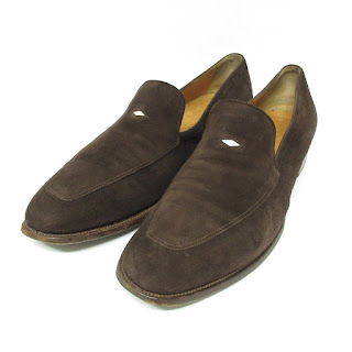 Jil Sander Suede Leather Loafers