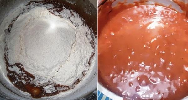 Leftover Buttercream Cake Recipe | What to make with Leftover Buttercream? | Buttercream Chocolate cake recipe written by Kavitha Ramaswamy of Foodomania.com
