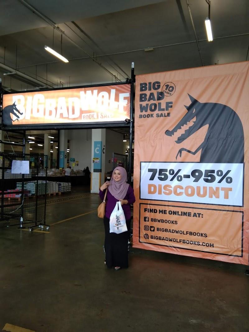 Big Bad Wolf Book Sale 2019 Seremban | Segalanya Ada Di Sini