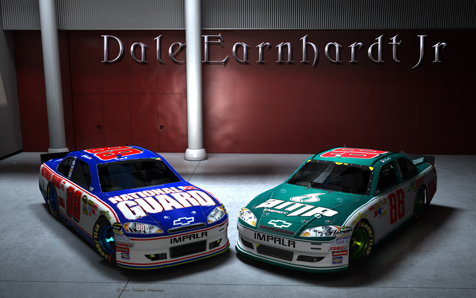Dale Earnhardt Jr. National Guard Amp Wallpaper