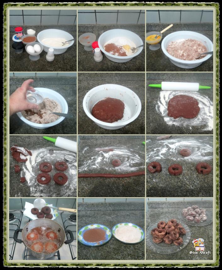 Rosquinha de chocolate 2