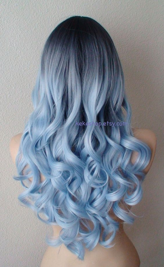 Blue Hairstyles For long Hair-It Is Different 2017 16